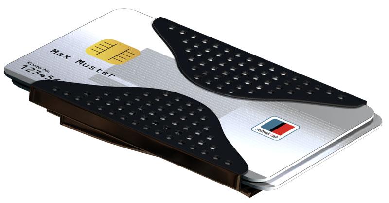 Geldklammer mit Kartenhalter